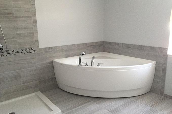 comment installer une baignoire a angle
