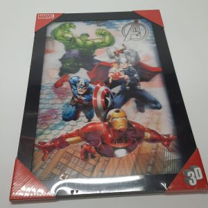 Encadrement 3D Marvel