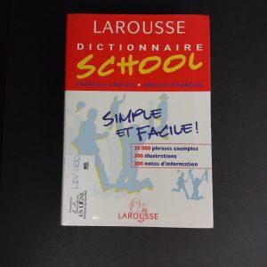 Dictionnaire school français-anglais