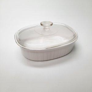 Plat Corningware ovale