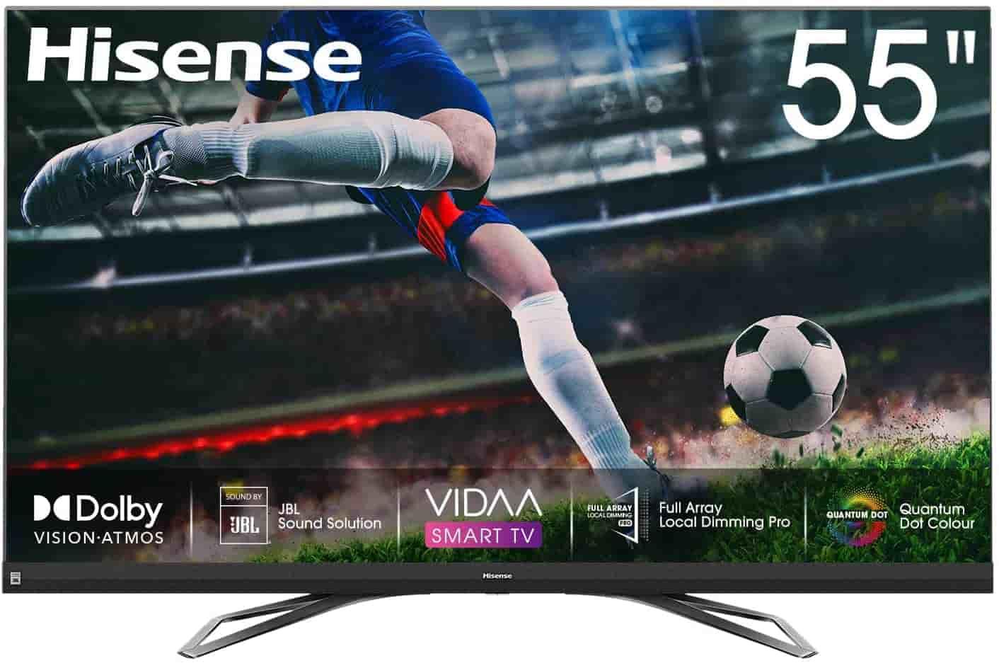 meilleur tv 4k 55 pouces moins de 1000