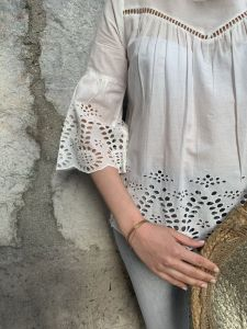 blouse blanche Visimma de chez Vila