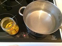 Préparation d'huile d'avocat