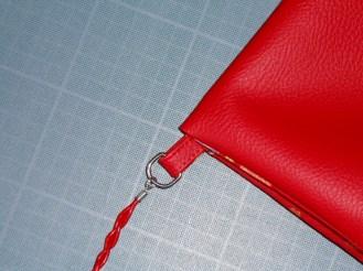Pochette rouge - 06