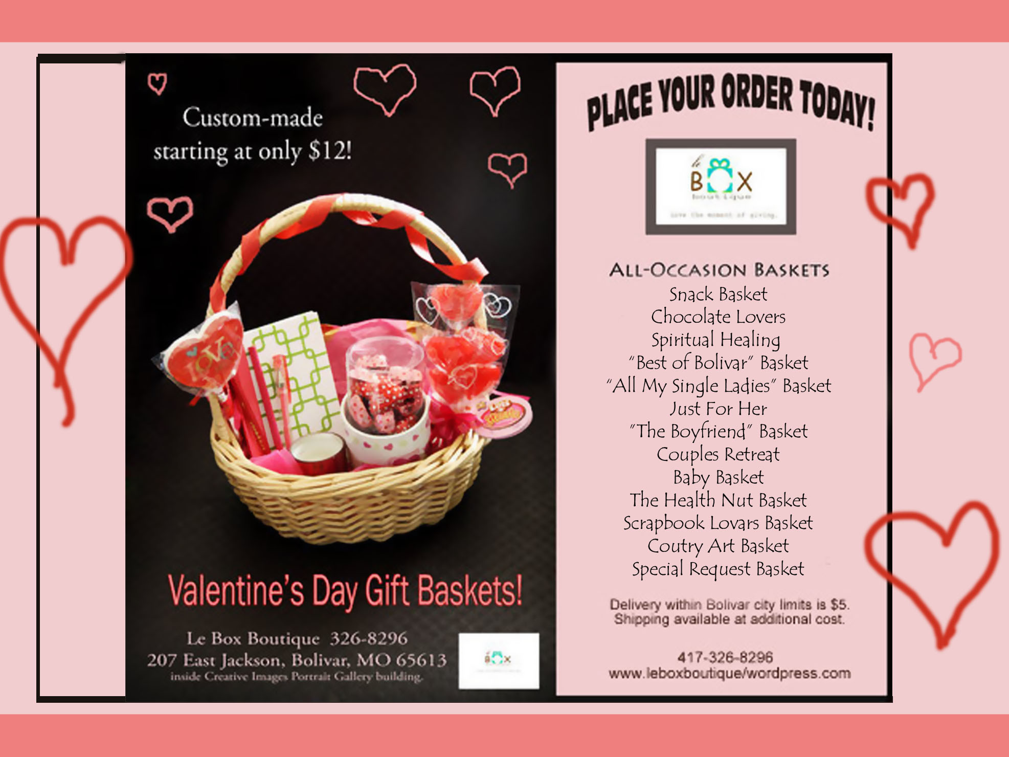 All Occasion Gift Baskets Le Box Boutique