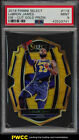 2018 Select Die-Cut Gold Prizm LeBron James /10 #118 PSA 9 MINT (PWCC)