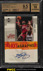 2005 Upper Deck Debut Hotagraphs LeBron James SP AUTO #LJA BGS 9.5 GEM MT (PWCC)
