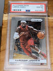 🔥2013-14 LeBron James PANINI PRIZM #65 BGS 9.5 PSA chrome silver finish MVP