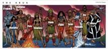 L'Akua (le paradis hawaïen) et ses habitants sont présents dans l'univers de Marvel.
