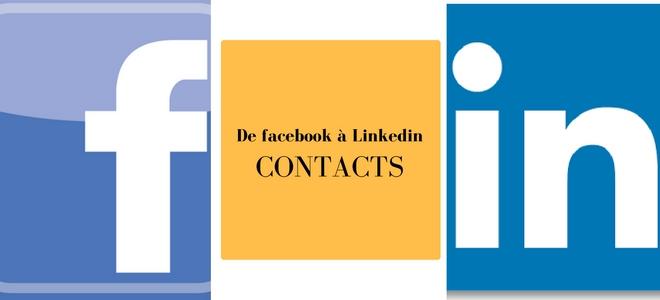 Ajouter ses contacts Facebook sur Linkedin