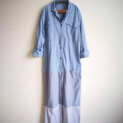 DIY UPCYCLED SHIRT MAXI DRESS