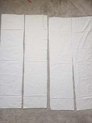 diy slip dress sewing pattern pannels