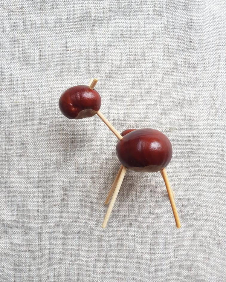 chestnut animals craft