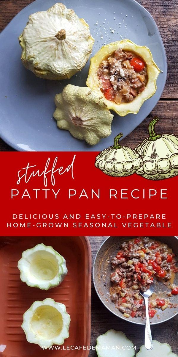 stuffed patty pan squash recipe