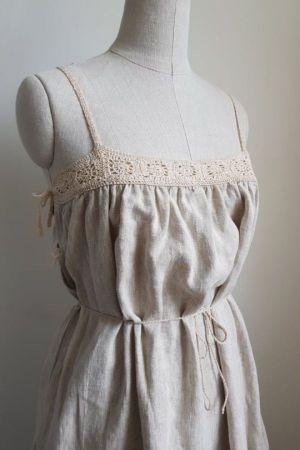 Clemence Linen Dress