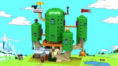 Adventure Time (Source: lego.cuusoo.com)