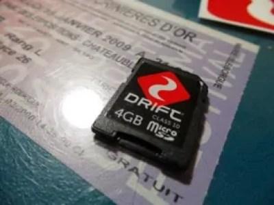 Carte SD avec µSD