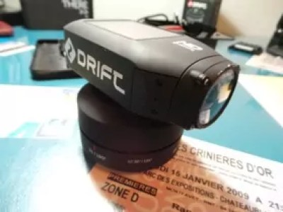 La caméra sur le Drift Timelapse