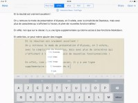 Prévisualisation du texte au format HTML