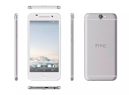 HTC One A9_Aero_6V_Argent