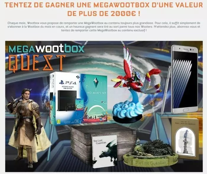 Wootbox - septembre 2016