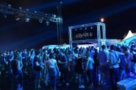 Vue du centre du festival