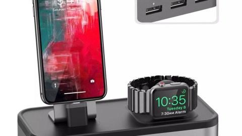 Oittm 5 en 1 Station pour Apple Watch et iPhone