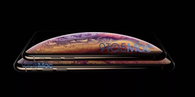 iPhone XS fuite