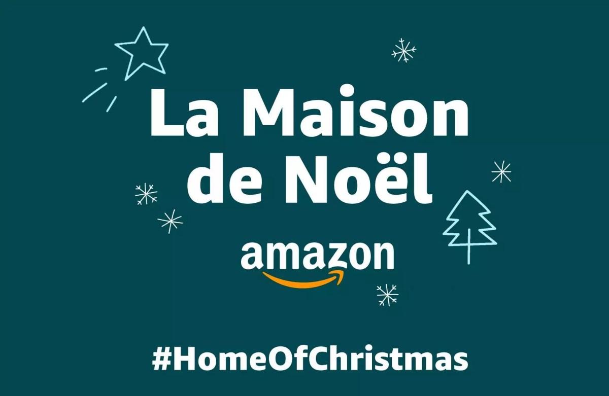 Maison de Noël - Amazon