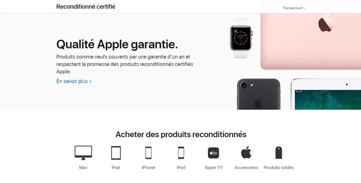 iPhone Apple Refurb