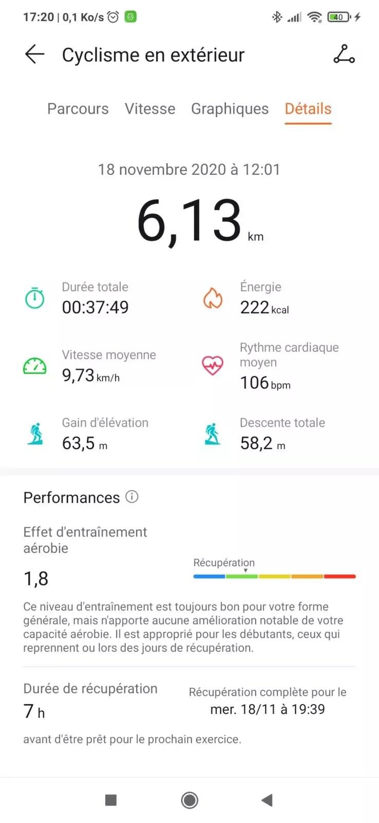 Screenshot huawei health 4 Watch fit