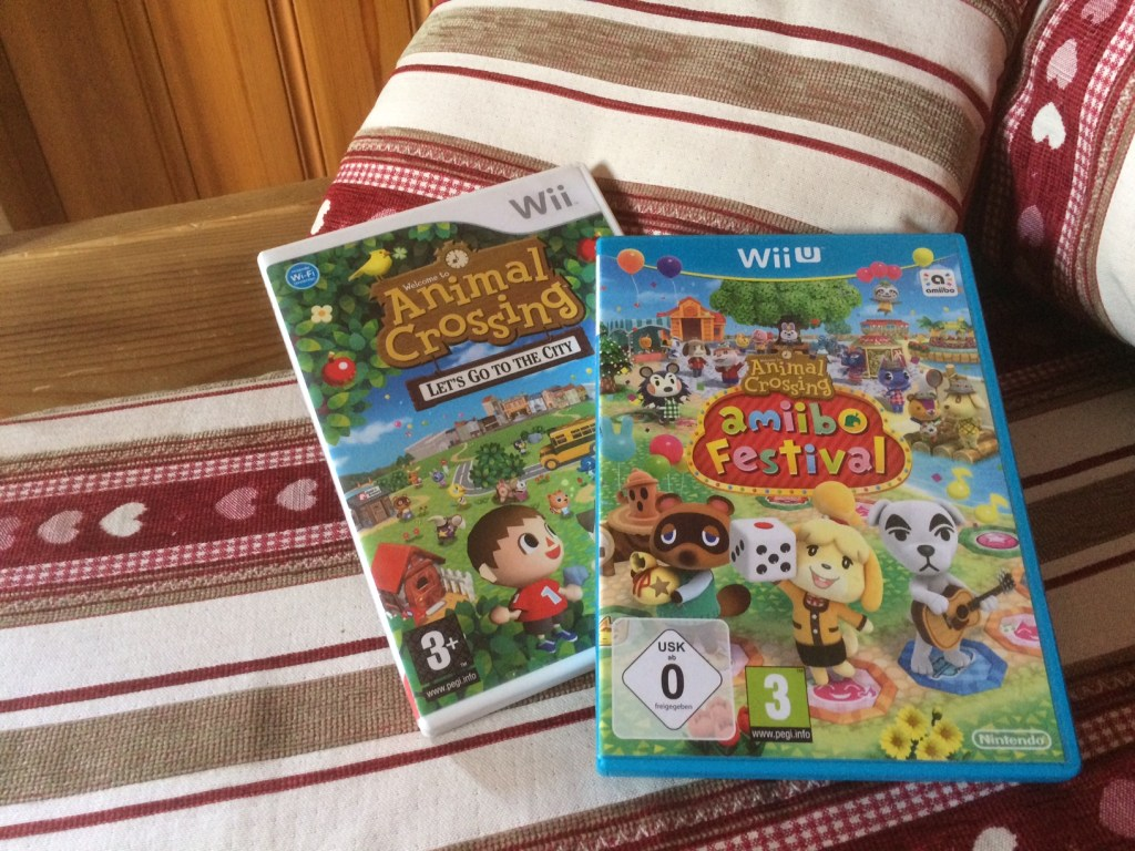 Animal Crossing Lets go to the city pour WII et Animal Crossing amiibo festival pour WII-U
