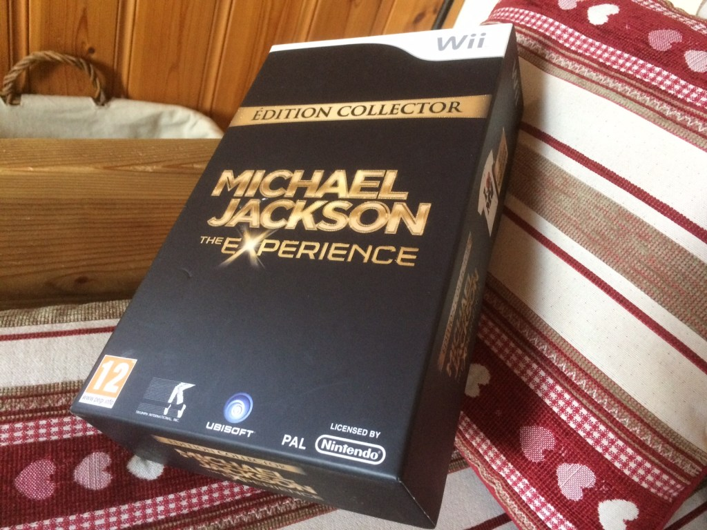 Mickael Jackson The Experience Collector pour WII