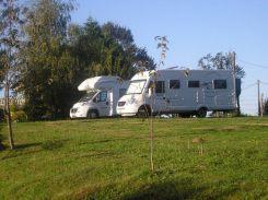 aire camping car à la ferme de Brossard Lanteuil 19