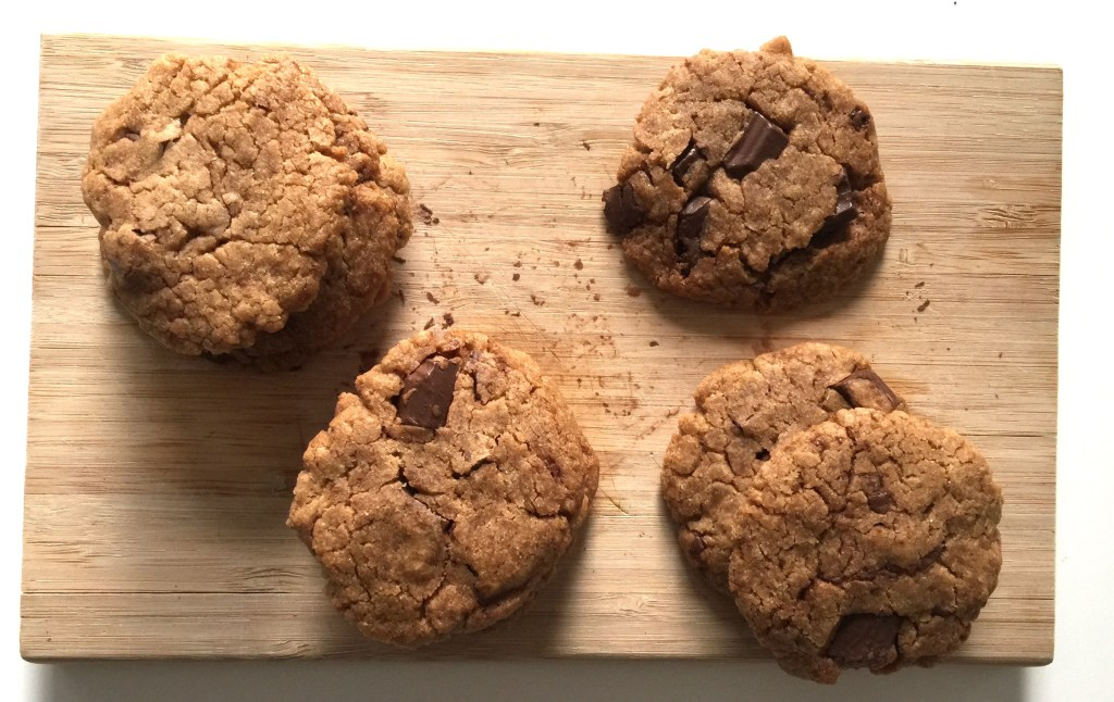 Le carnet d'Anne-So - recette cookies vegan