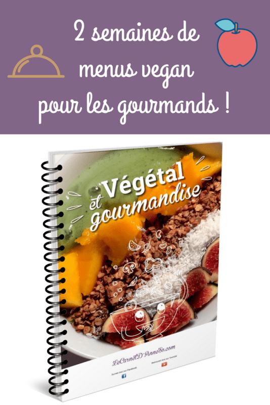 2 semaines de menus vegan pour les gourmands !1
