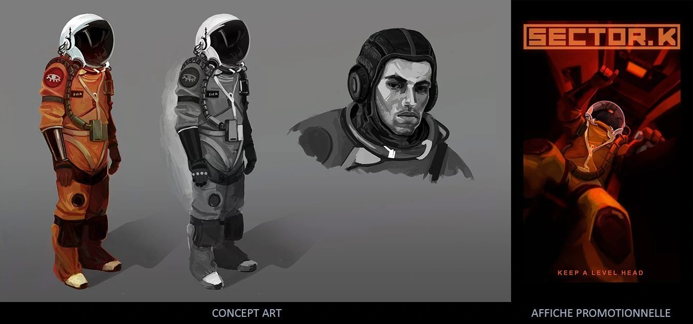 Concept Art VS Illustration Promotionnelle