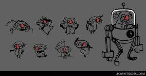 Character Design pour dessin animé