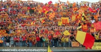 Curva Nord col Benevento play-off