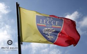 bandiera U.S. Lecce stemma logo