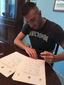 Perucchini firma per il Benevento