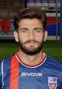 L'attaccante del Fondi Diego Albadoro