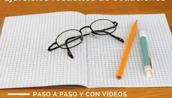 Ejercicios resueltos de sistemas de ecuaciones lineales - Lecciones ...