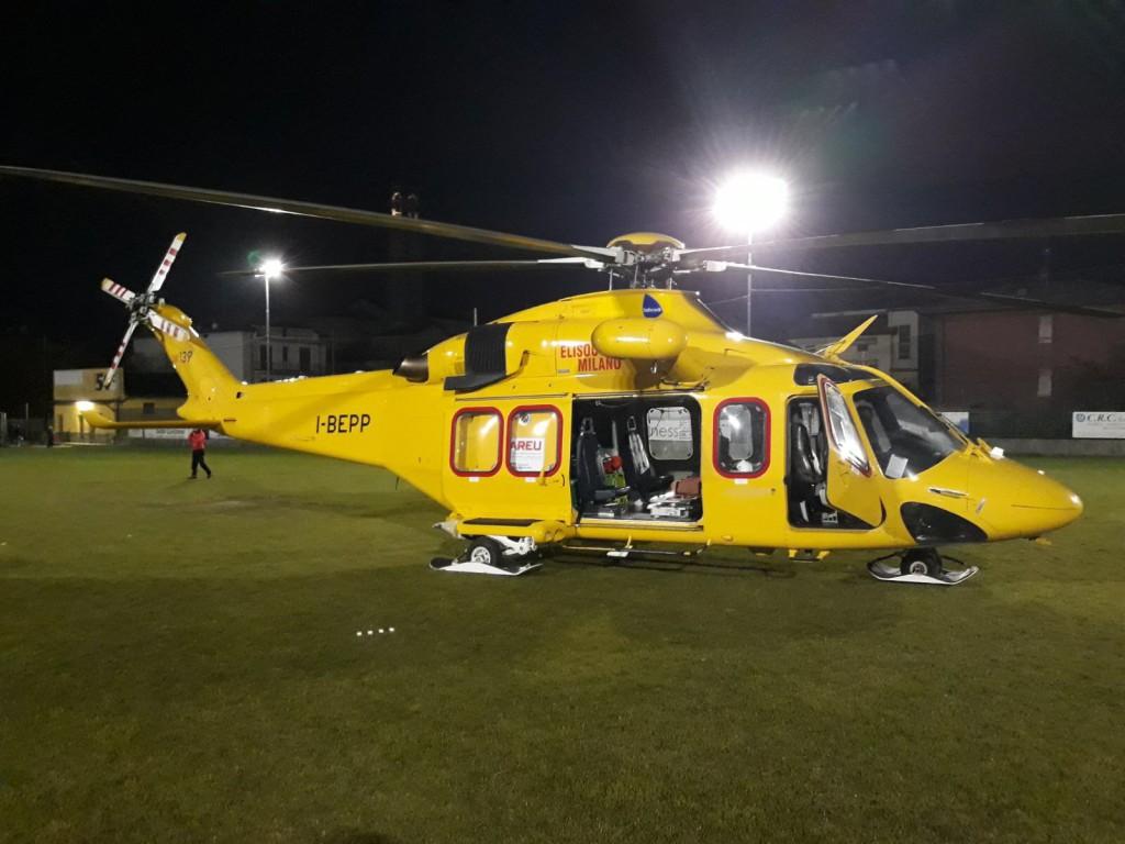 Volo notturno: 1300 missioni in 10 anni per l'elisoccorso di Como - Lecco  Notizie