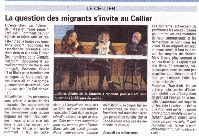 acceuil des migrants