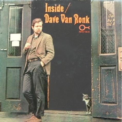 ディブ・ヴァン・ロンクの劇中と同じデザインのアルバム。猫に注目