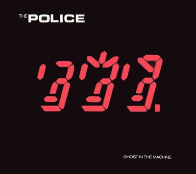 """The Police """"Ghost In the Machine""""1981 Art Direction,Artwork,Design by Mick Haggerty"""