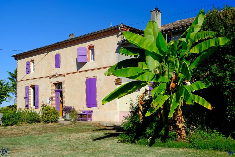 Le Chameau Bleu - Blog Voyage et Cuisine - Maison d'hôtes Ferme des Parreaux - Tarn et Garonne