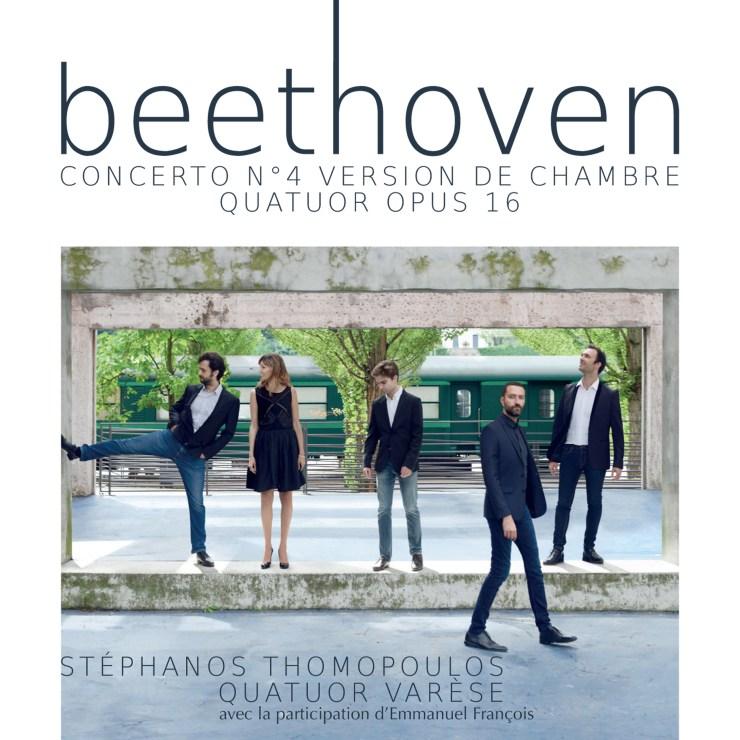 BEETHOVEN, Concerto n°4. Version de chambre.