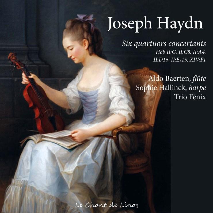 Joseph Haydn, 6 quatuors concertants pour flûte et trio à cordes